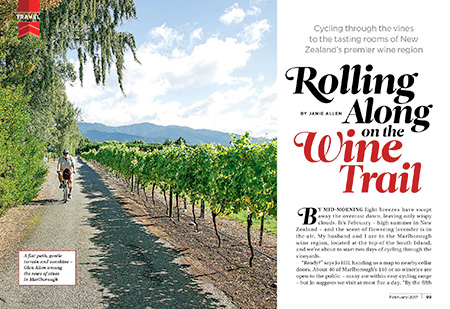 Rolling Along on the Wine Trail