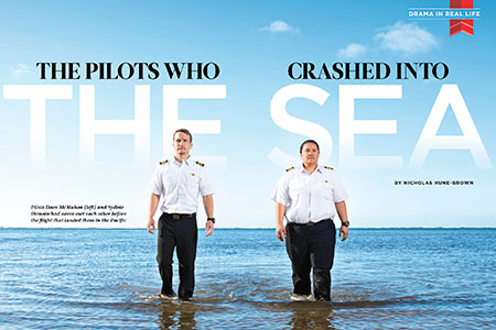 The Pilots Who Crashed Into the Sea