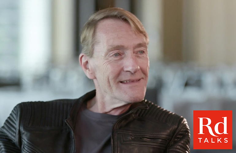 In conversation with Lee Child