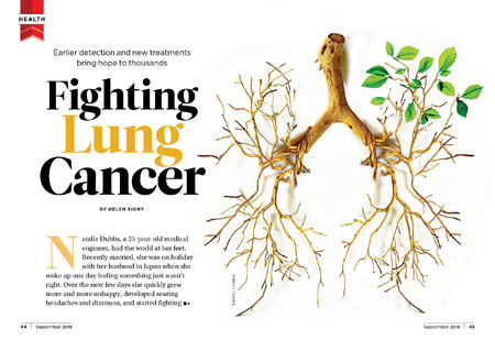 Fighting Lung Cancer