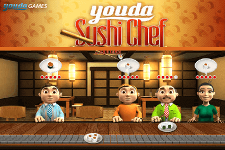 Youda Sushi Chef online game