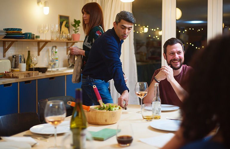 Helping your host out? You might be a nuisance