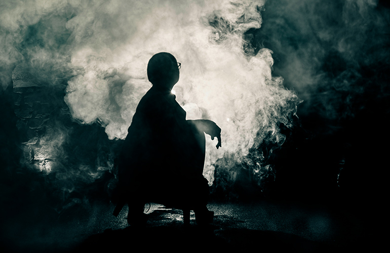 Two witnesses to a shadow figure