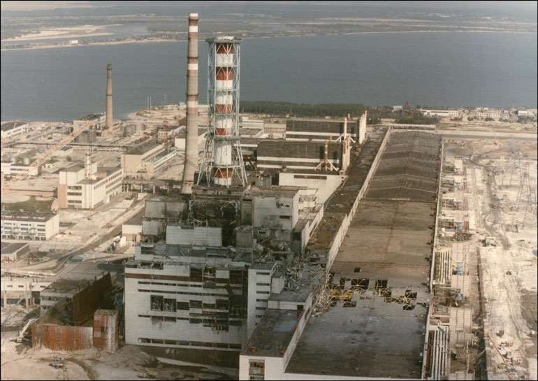 11. The Chernobyl Nuclear Explosion