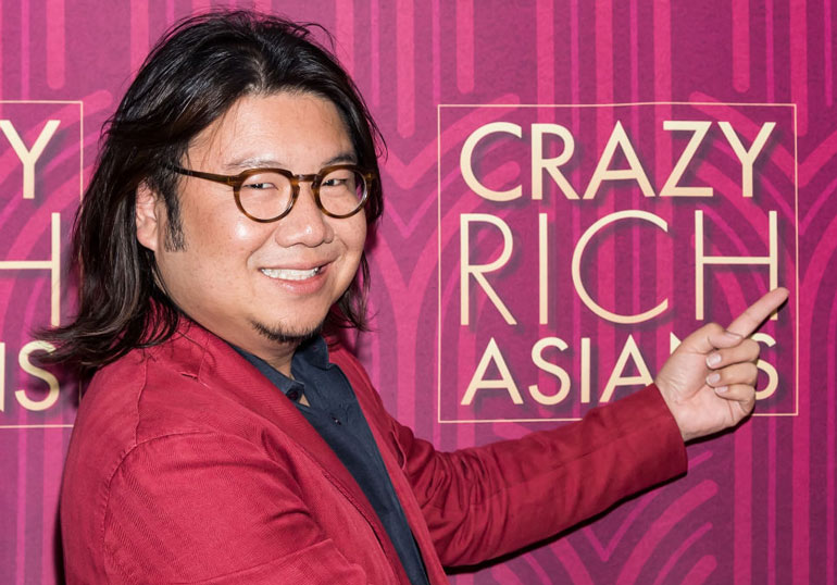 3. Author Kevin Kwan's mother thinks its all bit of a yawn