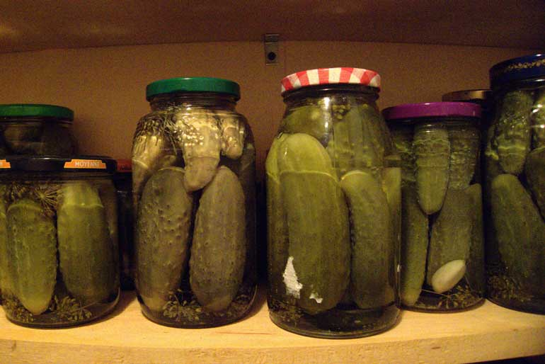 7. Pickles and ice cream