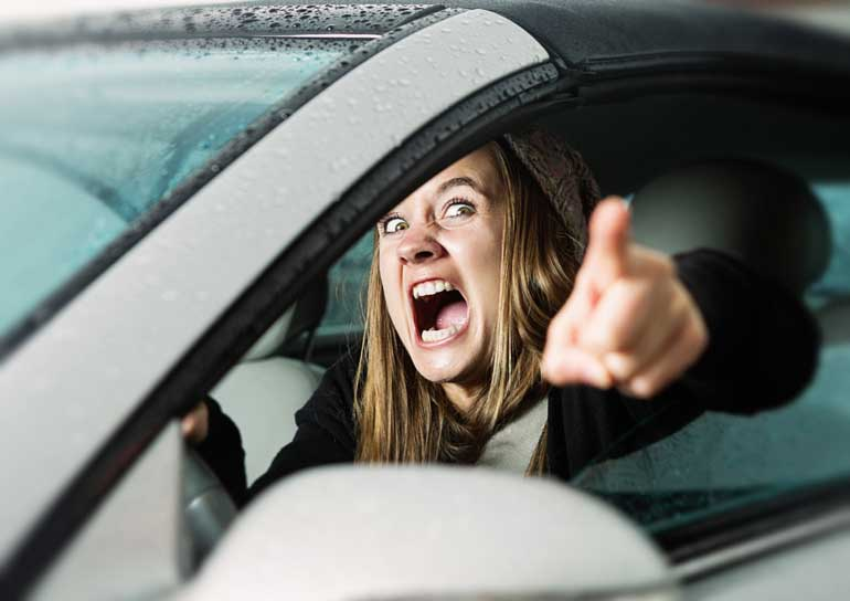 7. Don't be judgmental about thy fellow drivers
