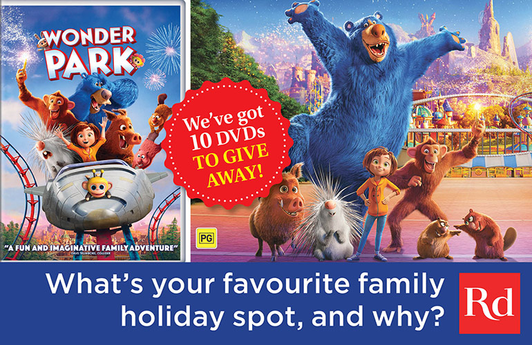 Wonder Park Blu-ray Competition