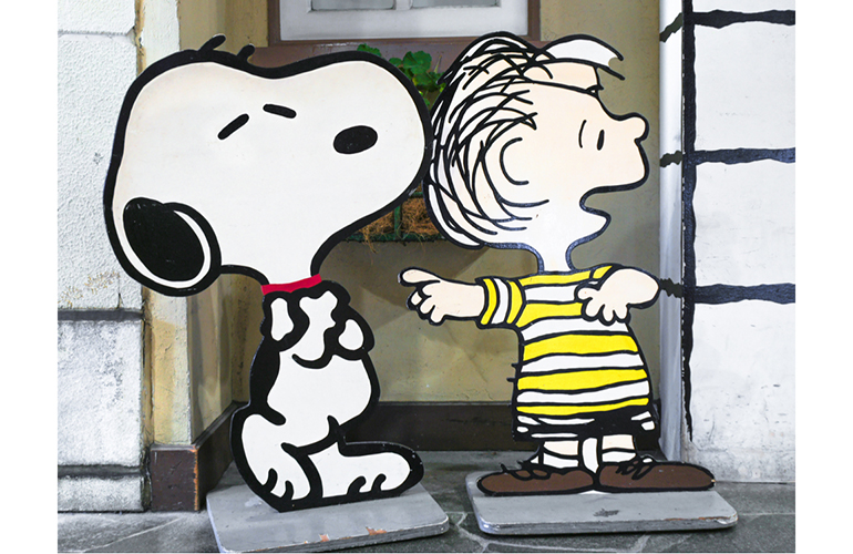 What's ironic about A Charlie Brown Christmas?