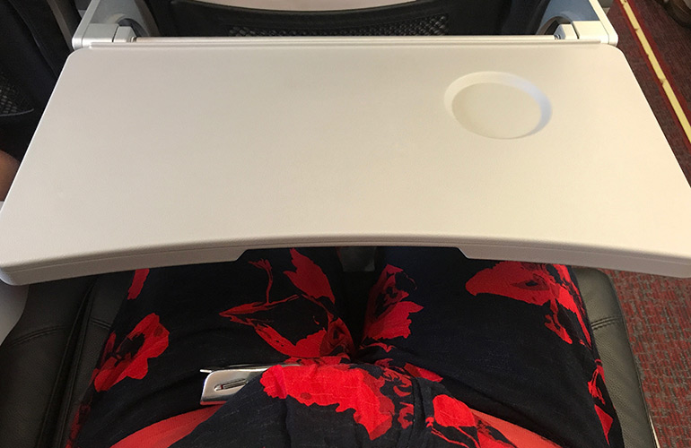 Why are the tray tables so dirty?