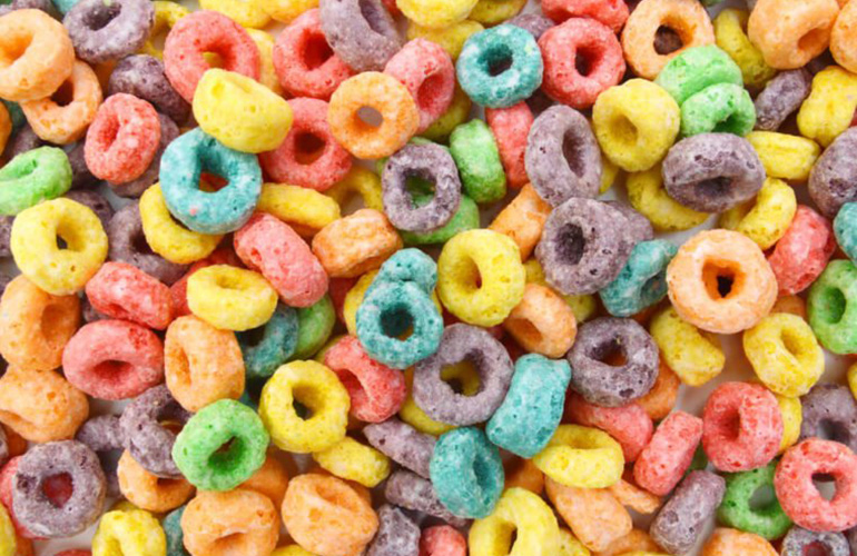 Froot Loops loops are all the same flavour