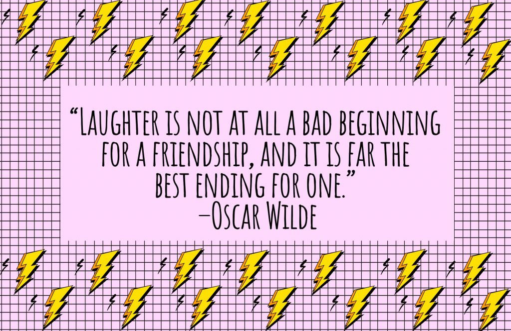 On laughter in friendship