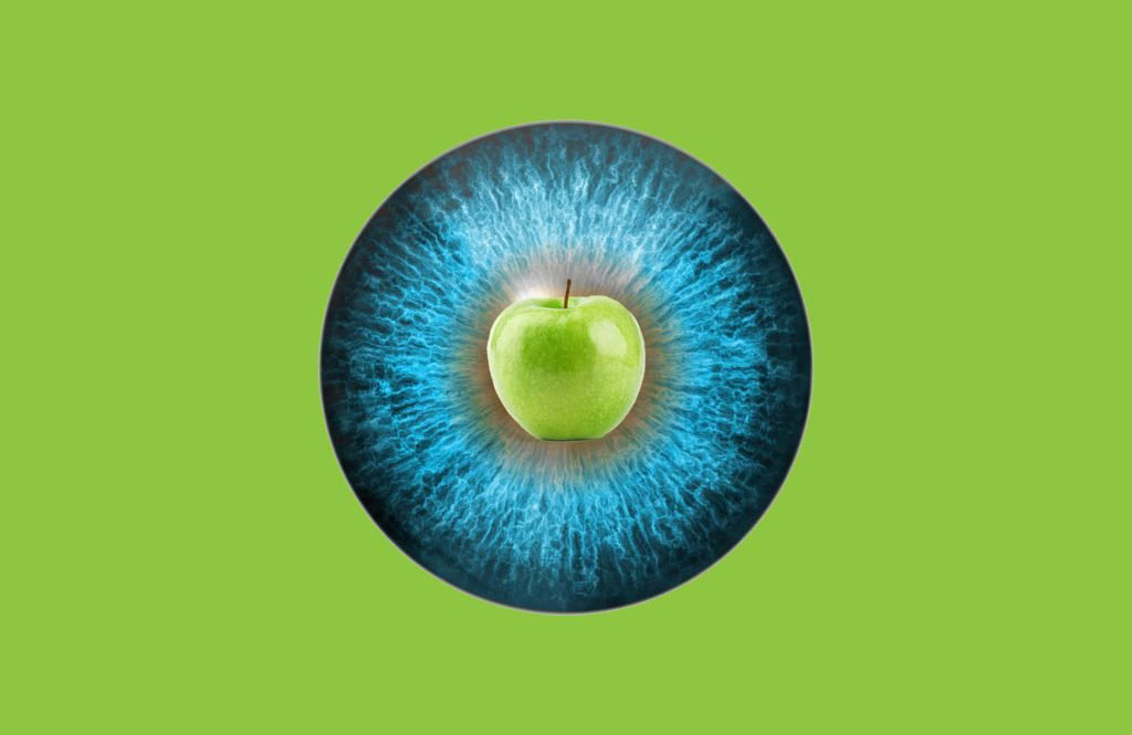 Apple of the eye