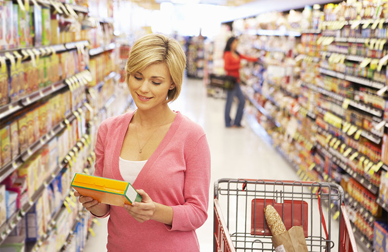 Stay 1.5m away as you navigate the aisles