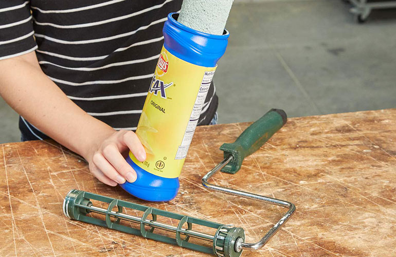 How to make a paint roller last longer