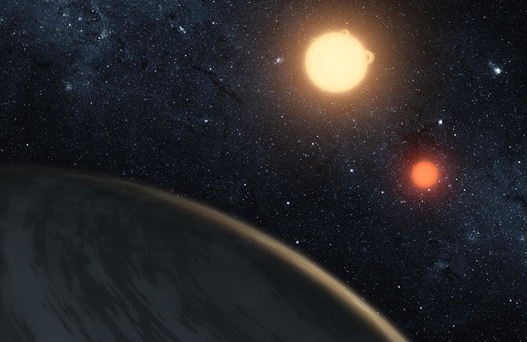An array of exoplanets