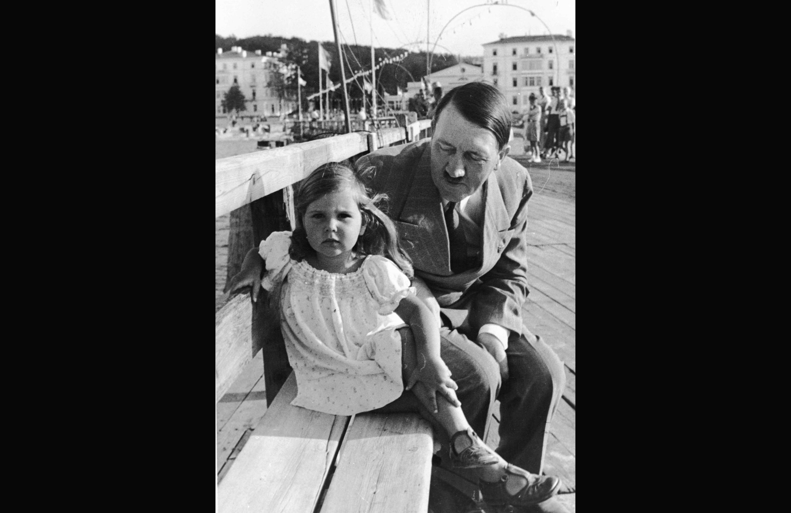 Hitler, revealed, in the presence of a child