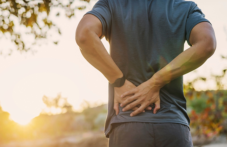 You've had back pain