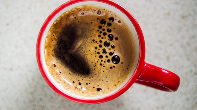 Don't drink coffee before a blood pressure test