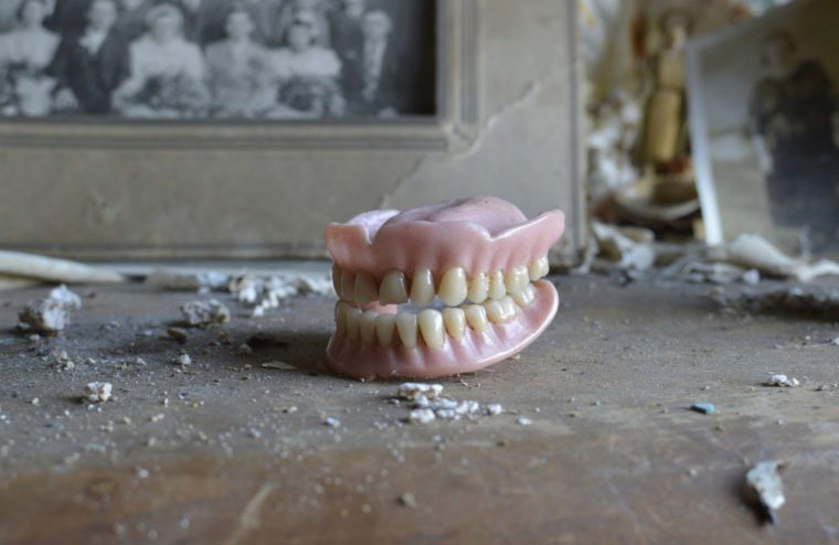 Dentures used to be made from the teeth of dead soldiers