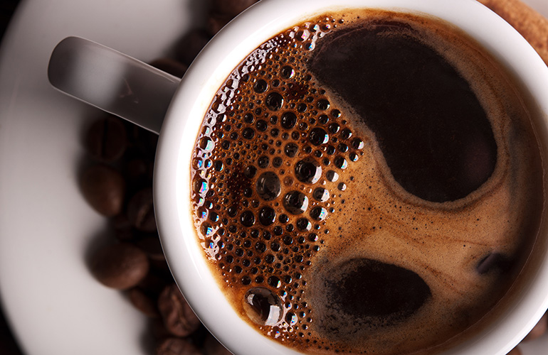 You might need to kick the coffee habit