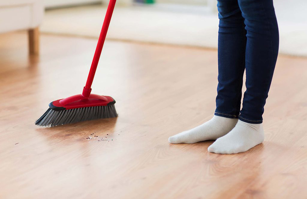 Mistake 7: Cleaning from the ground up