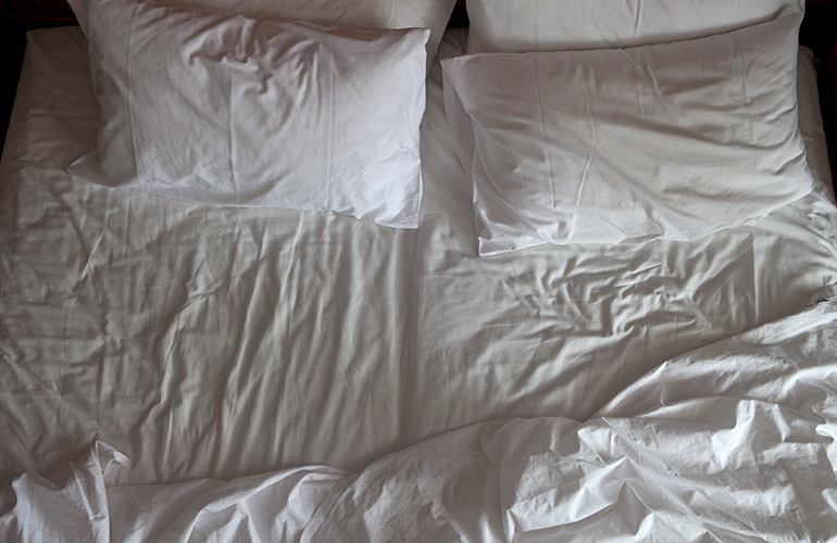 Wash your pillows regularly