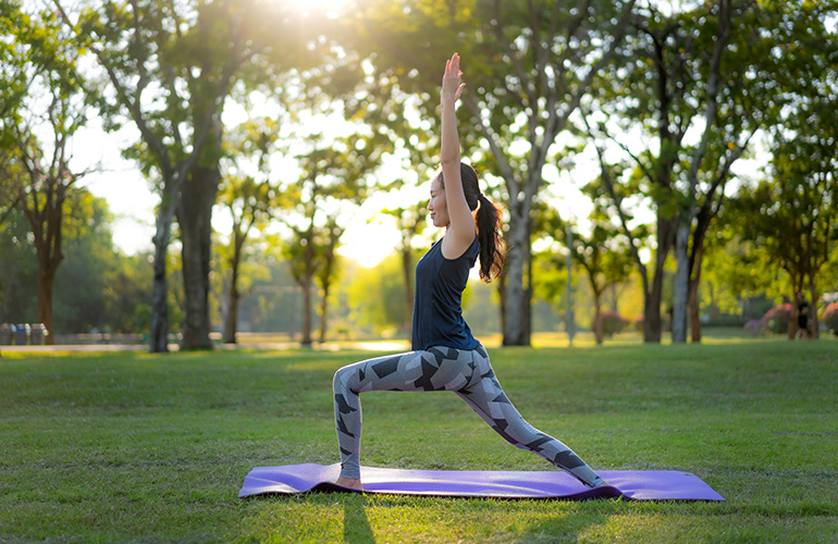 Why should I do morning yoga stretches?